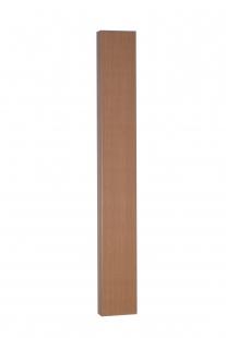 MARLEY Blende für Laufschiene passend für Falttür New Generation/Jazz, Länge 2 Meter, buchefarben