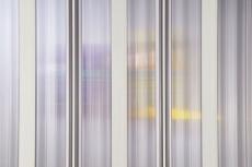 Nischenfalttür, Duschfalttür, Nürnberg, PVC transparent, 80-100x 185 cm, weiss