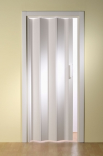 Falttür Luci, Volllamelle, weiß, BxH 88,5x202 cm