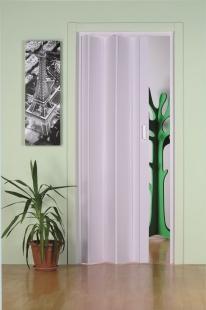 Falttür Moni ohne Fenster, weiß, BxH 83x204 cm