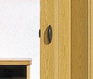 MARLEY Falttür Rapid ohne Fenster, eichefarben, BxH 88x203 cm