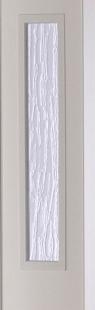 Falttür Luciana Höhe nach Maß 3 Fensterreihen weiß