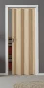 Falttür Luciana esche holzfarben in 3-D-Optik, Volllamelle, BxH 88,5x202 cm