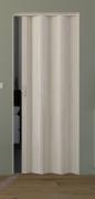 Falttür Luciana eiche weiß in 3D-Optik, Volllamelle, B 88,5 x H 202 cm