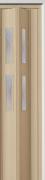 Zusatzlamelle (1 Stück) für Falttür Luci, esche holzfb., 3-D-Druck, 2 Fensterreihen, BxH 15,5 x 202 cm