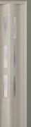 Zusatzlamelle (1 Stück) für Falttür Luci, eiche weiß, 3-D-Druck, 3 Fensterreihen, BxH 15,5 x 202 cm