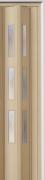 Zusatzlamelle (1 Stück) für Falttür Luci, esche holzfb., 3-D-Druck, 3 Fensterreihen, BxH 15,5 x 202 cm