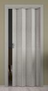 Falttür Elvari, 3D-Optik grau, Volllamelle, B 87,0 x H 202 cm
