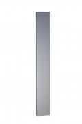 MARLEY Blende für Laufschiene passend für Falttür New Generation/Jazz, Länge 2 Meter, alufarben
