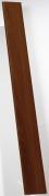 Grosfillex Zusatzlamelle für Falttür Spacy, Volllamelle, palisander, BxH 14,5x205 cm