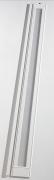 Grosfillex Zusatzlamelle (76402096) für Falttür Larya, Glaslamelle, weiß glänzend, BxH 14,5x205 cm