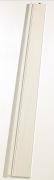 Grosfillex Zusatzlamelle (76302A72) für Falttür Axia, Volllamelle, esche weiß, BxH 14,5x205 cm