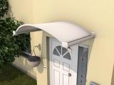 Ovalbogenvordach Gutta OV/B (7210503), 160 cm, weiß
