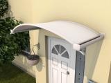 Ovalbogenvordach Gutta OV/B (7210506), 200 cm, weiß