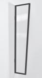 Seitenblende Gutta B1 klar 200 (7220198) anthrazit, 200 x 60 x 45 cm