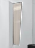 Seitenblende Gutta B1 bronce 200 (7220136) weiss, 200 x 60 x 45 cm