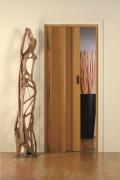 Falttür Moni ohne Fenster, frasino/eichefarben, BxH 83x204 cm