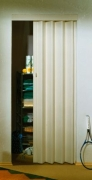 MARLEY Falttür Rapid ohne Fenster, esche weiß, BxH 88x203 cm