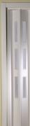 Zusatzlamelle für Falttür Luci weiß mit 3 Fensterreihen B 15,5 x H 202 cm