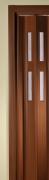 Zusatzlamelle für Falttür Luci mahagonifarben 2 Fensterreihen B 15,5 x H 202 cm